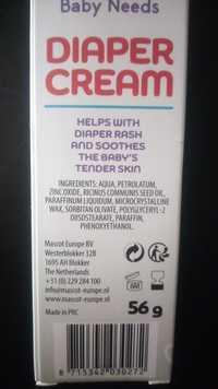 Mascot Europe BV - Baby needs - Diaper cream