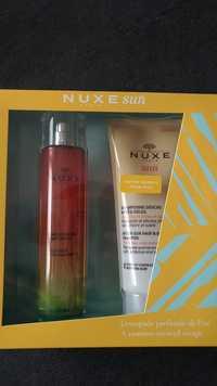 Nuxe - Sun - Coffret Eau délicieuse parfumante et Shampooing douche après-soleil