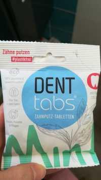 Dent tabs - Zahnputztabletten