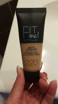 Maybelline - Fit me! matte +poreless 220