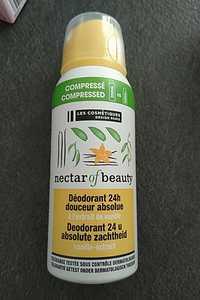 LES COSMÉTIQUES DESIGN PARIS - Nectar of beauty - Déodorant 24h douceur absolue