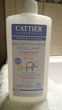 Cattier - Eau Nettoyante Micellaire visage et corps bébé