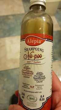 Alepia - Shampooing No-poo aux 7 huiles bio