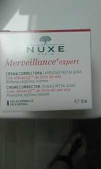 Nuxe - Merveillance expert - Crème correctrice rides installées