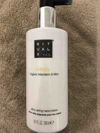 Rituals - Infinity - Ultra caring hand lotion