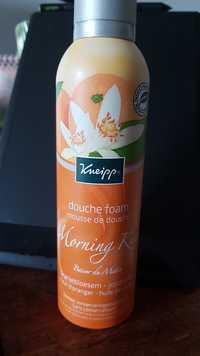 Kneipp - Morning kiss - Mousse de douche fleur d'oranger jojoba
