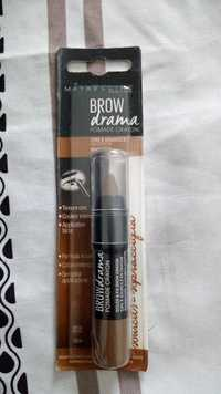 Maybelline - Brow drama - Pomade crayon sourcils medium brown