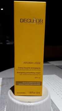 Decléor - Aroma lisse - Crème lissante énergisante