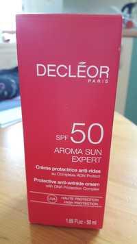 Decléor - Aroma sun expert - Crème protectrice anti-rides spf 50