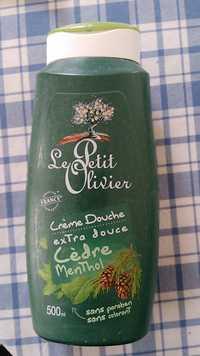 LE PETIT OLIVIER - Crème douche extra douce cèdre menthol