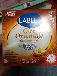 LABELL - Cire orientale à l'huile d'argan & au sucre