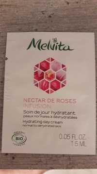 Melvita - Nectar de roses infusion - Soin de jour hydratant