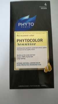 Phyto - Phytocolor sensitive - Permanent color 4 brown
