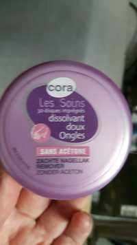 Cora - Les soins - Dissolvant doux ongles