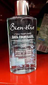 BIEN-ÊTRE - L'eau parfumée des familles