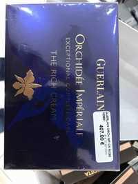 Guerlain - Orchidée impériale  - The rich cream