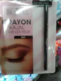 BIOCURA - Crayon kajal pour les yeux noir