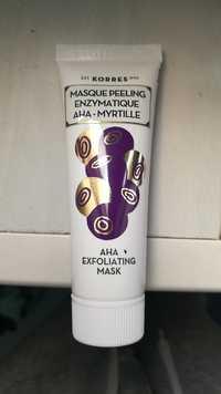 KORRES - Masque peeling enzymatique aha myrtille