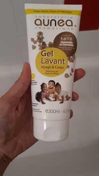 Aunea - Gel lavant visage et corps bébé & enfant