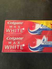 COLGATE - Max white - Dentifrice blancheur
