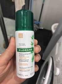 KLORANE - Shampooing sec à l'ortie