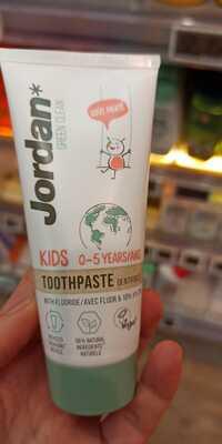 JORDAN GREEN CLEAN - Dentifrice - Kids 0-5 ans