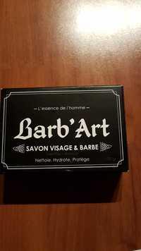 BARB'ART - L'essence de l'homme - Savon visage & barbe