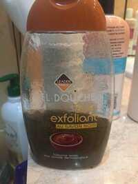 Leader Price - Gel douche soin exfoliant au savon noir