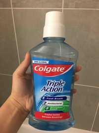 COLGATE - Triple action - Bain de bouche
