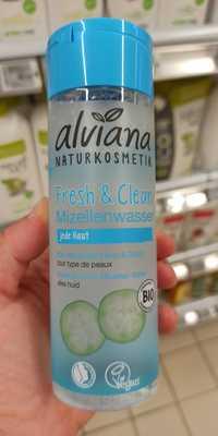 ALVIANA - Eau micellaire fresh & clean