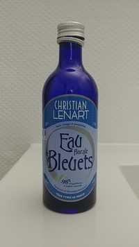 Christian Lénart - Eau florales de bleuets