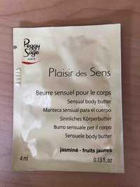 Peggy Sage - Plaisir des Sens - Beurre sensuel pour le corps