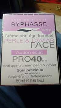 BYPHASSE - Soin du visage - Crème anti-âge fermeté spf8