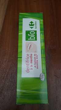 CARREFOUR BIO - Dentifrice à l'extrait de menthe bio