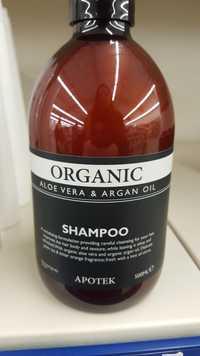 Apotek - Organic - Shampooing aloé vera & argan oil
