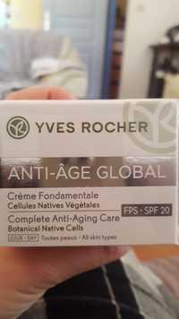 Yves Rocher - Anti-âge global - Crème fondamentale FPS 20