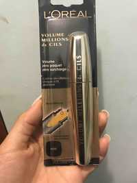 L'Oréal - Volume millions de cils - Mascara noir
