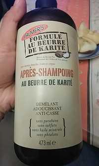 PALMER'S - Beurre de karité - Après-shampooing démêlant