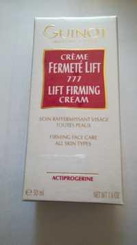 Guinot - Crème fermeté lift 777 - Soin raffermissant visage