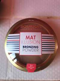 Bourjois - Mat Illusion - Bronzing powder