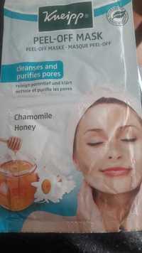 KNEIPP - Peel off mask - Chamomille & honey