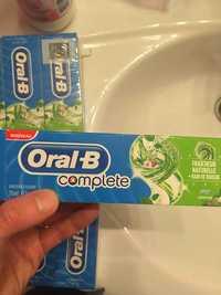 Oral-B - Complète - Dentifrice fluoré