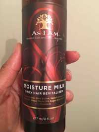 As I Am - Moisture milk daily hair revitalizer