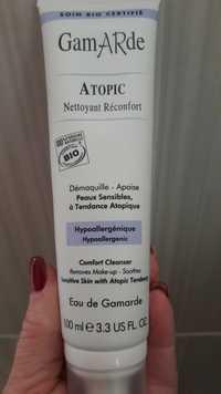 GAMARDE - Atopic - Nettoyant réconfort - Démaquille - apaise