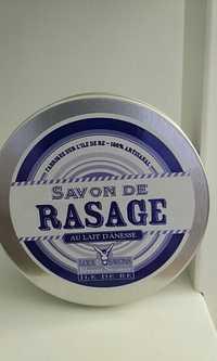 LOIX & SAVONS - Savon de rasage au lait d'Ânesse