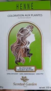 SCENTED GARDEN - Henné - Coloration aux plantes blond doré
