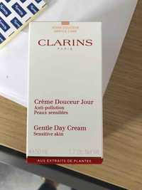Clarins - Crème douceur jour anti-pollution peaux sensibles