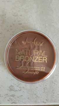RIMMEL - Natural bronzer - Poudre bronzante waterproof IPS 15