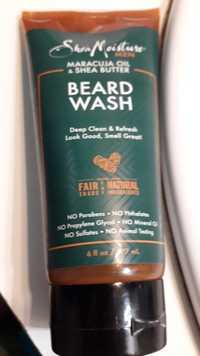Shea Moisture - Maracuja oil & Shea butter - Beard wash