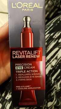 L'Oréal Paris - Revitalift Laser Renew - Precision eye cream